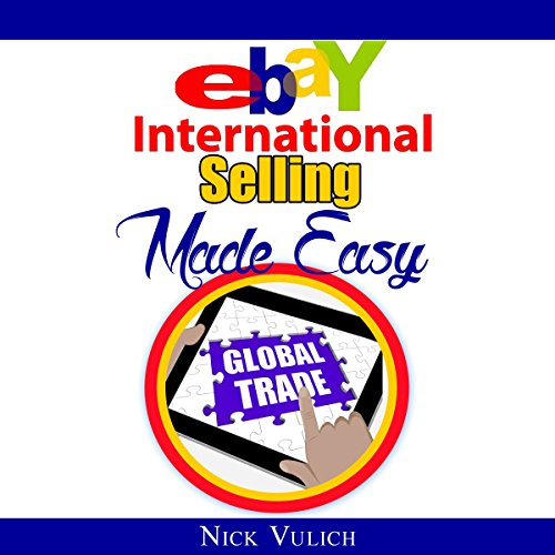 eBay International Selling Made Easy audiobook cover art