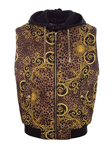 Versace Fashion Mens B9GUA506S0534923 Multi kleuren Vest | Herfst-Winter 19