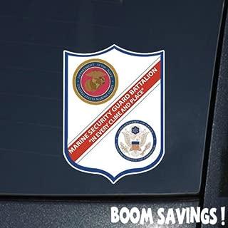 Marines USMC 1st Marine Security Guard Battalion SSI 6