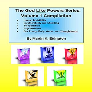 The God Like Powers Series: Volume 1 Bundle audiobook cover art