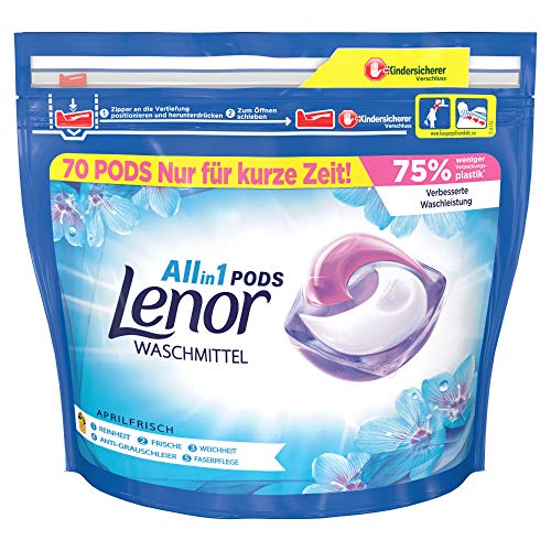 Lenor All-in-1 PODS Aprilfrisch 70 Waschladungen