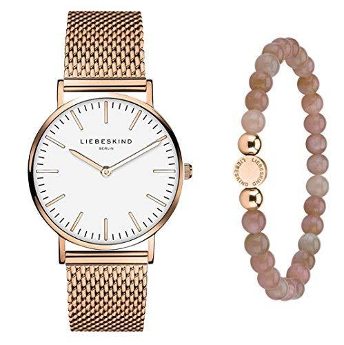 Liebeskind Berlin Set Armbanduhr und Armband
