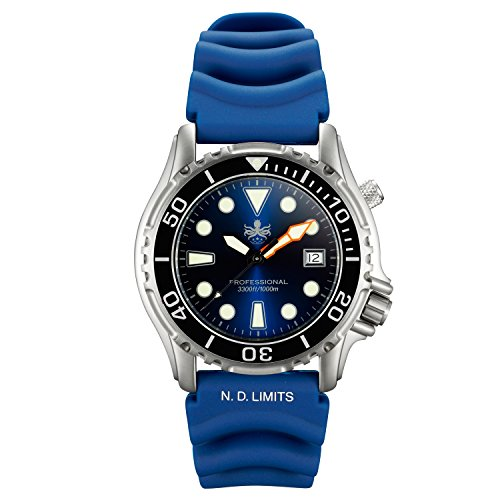 Phoibos Men's PX005B 1000M Dive Watch Swiss Quartz...