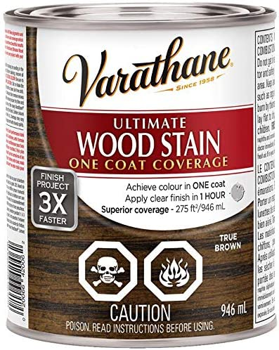 946mL Ultimate True Brown 2021new shipping free shipping Stain Alkyd Max 44% OFF Wood
