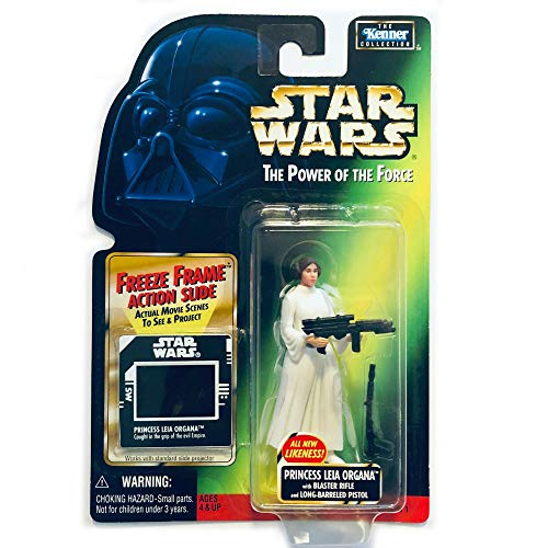 Star Wars Freeze Frame FREEZE FRAME Princess Leia Organa with Blaster Rifle Princess Leia (1998 NEW version) domestic version (japan import)