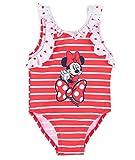 Minnie Costume da Bagno 12-18 - 24-36 Mesi Disney Estate 2021 (24 Mesi, Rosso 1)