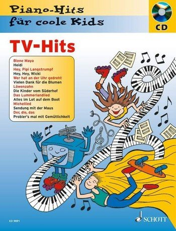 Piano-Hits für coole Kids: TV-Hits