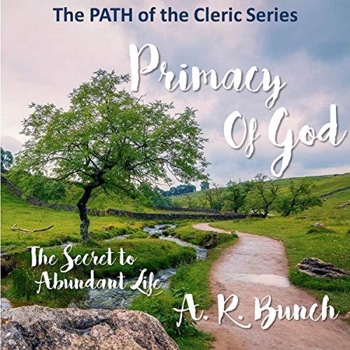 Primacy of God audiobook cover art