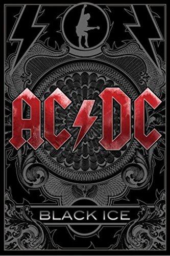 1art1 42965 AC/DC - Black Ice Poster (91 x 61 cm)