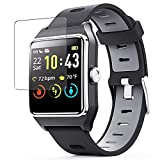 Puccy 3 Pack Screen Protector Film, compatible with ENACFIRE Smart Watch W2 1.3' smartwatch TPU Guard ( Not Tempered Glass Protectors )
