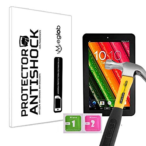 Protector de Pantalla Anti-Shock Anti-Golpe Anti-arañazos Compatible con Tablet Woxter QX 82