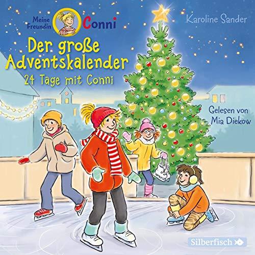 Der große Adventskalender (Meine Freundin Conni - ab 6 ): 24 Tage mit Conni : 2 CDs