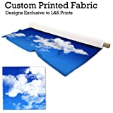 Himmel & Wolken Design Digital Print Stoff