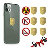 Cell Phone EMF Protection,Anti Radiation Sticker,Radiation Neutralizers for iPhone iPad,WeLohas EMF Blocker for All Electronics (6Packs)