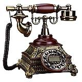 Kaidanwang Teléfono clásico Vintage Retro teléfono Fijo Teléfono Vintage Casera...