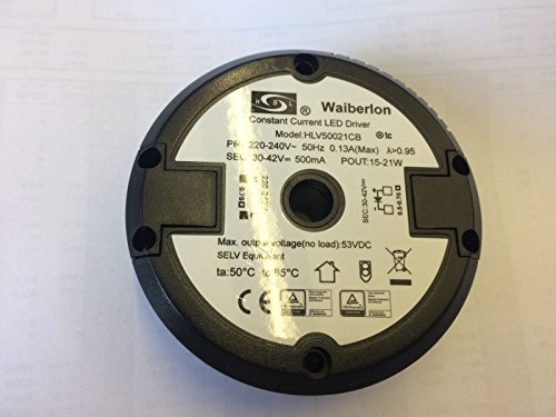 Waiberlon HBL Current LED Driver HLV50021CB 30-42V 500mA 15-21W rund HBL