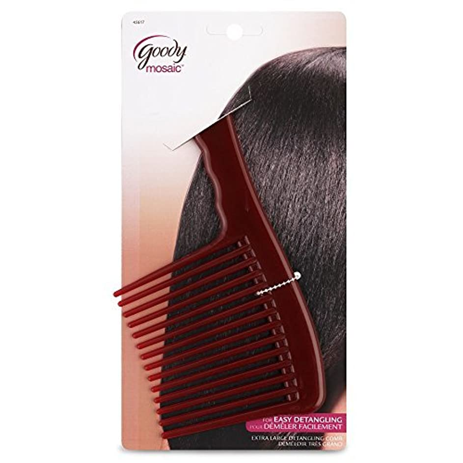 花弁骨折地中海Goody Mosaic Comb, Detangling Hair Rake [並行輸入品]