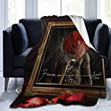 JTYHYRTUVE Super Soft Warm August Alsina Fleece Throw Blanket 60'x50' Fit Couch Sofa