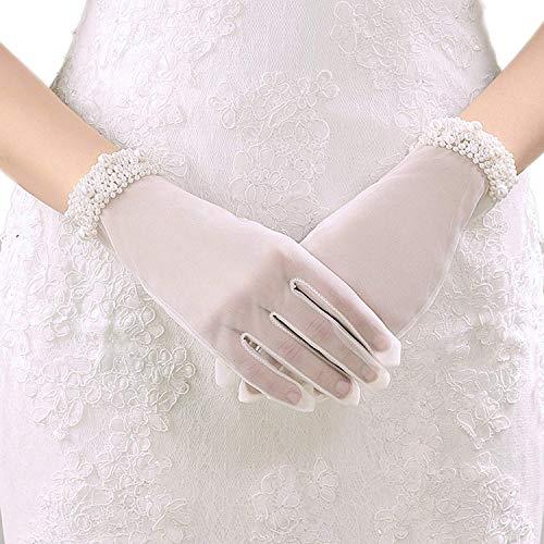 Guanti lunghi da sera da donna per feste formali balli studenteschi da sposa guanti lunghi in raso guanti da gomito matrimoni