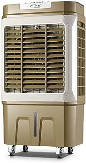 THS@ Ventilador De Aire Acondicionado Enfriador De Aire Evaporativo Purificador De Humidificador 50L DepóSito De Agua 4 Ajuste De Velocidad del Viento Cuarto De Enfriamiento para 30~60㎡