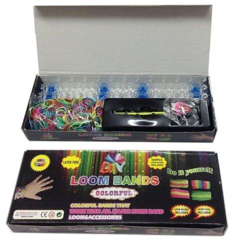 Bandas de telar Kit para hacer pulsera Niñas Accesorios