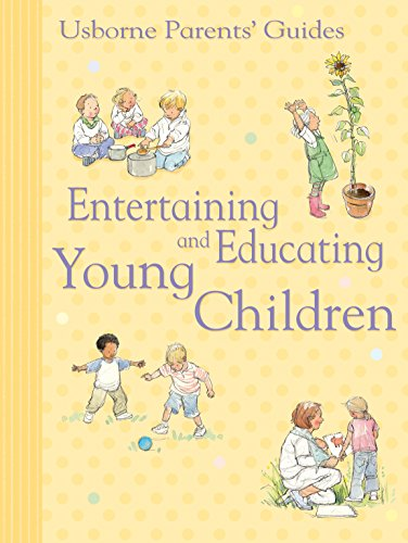 Entertaining and Educating Young Children: For tablet devices (Usborne Parents' Guides) (English Edition)