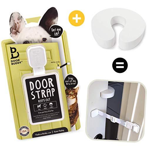 Door Buddy Door Latch Plus Door Stopper. Keep Dog...