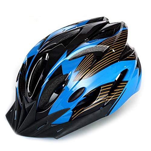 Casco da equitazione, unisex, leggero, regolabile, con visiera per mountain bike, sci, bici da strada