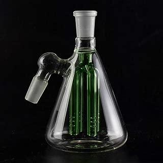 BaoHour 4.5 45 Degree Inch Inline Percolator Glass Craft Blue,18mm
