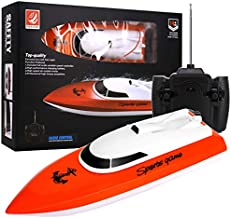 2020 New Remote Control Boat, 2.4GHz Remote Control Boat for Kids and Adults, Electric RC Boat 180 Degree Auto Flip Recovery for Pool and Lakes, High Speed Remote Boat Toys for Boys & Girls -RC Boat