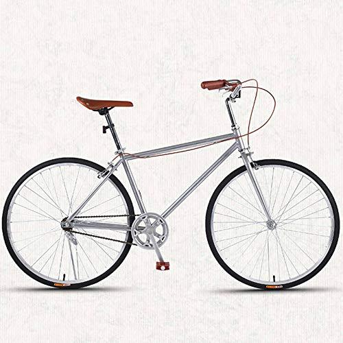 Bove Vintage 26 Inch Citybike Scheibenbremsen Stoßdämpfer Leicht Und Stabil Fahrrad Unisex-Single-Speed-C