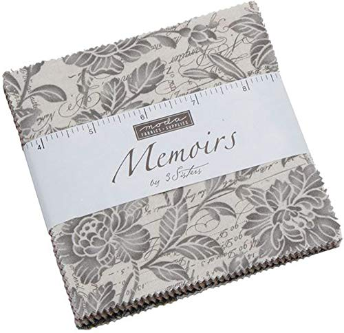 Memoirs Charm Pack by 3 Sisters; 42-5