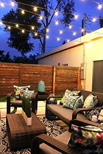 Solar String Lights, Magictec LED S14 Solar String Light Outdoor Waterproof Lighting Decoration Energy Saving Hanging Decor for Garden, Balcony, Porch, Backyard or Camp Tent 27 ft