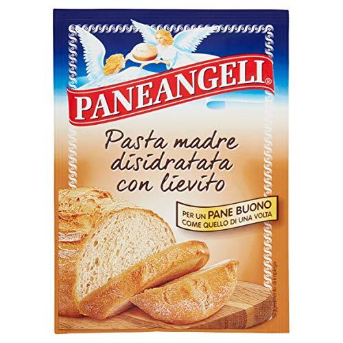 Paneangeli - Lievito di Birra per Pane, Arricchito con Pasta Madre Essiccata - 6 bustine da 30 g [180 g]