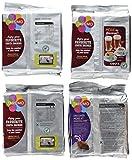 Tassimo Coffee Selection - Costa Cappuccino/Americano/Latte/Cadbury Hot Chocolate Pods - 4 Packs (40 Servings)