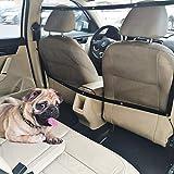 STARROAD-TIM Dog Car Barrier Vehicle Pet Barrier Backseat Mesh Dog Car Divider Net with Adjusting Rope and Hook Suitable...