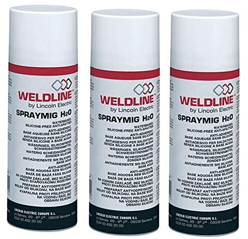 Gasmobe SPRAYMIG H2O Líquido y Aerosol Anti-Proyecciones, 400 ml, (PACK 3 unidades)