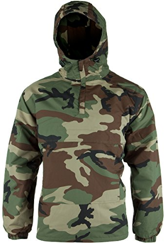 Mil-Tec Windbreaker Woodland Gr. 3XL