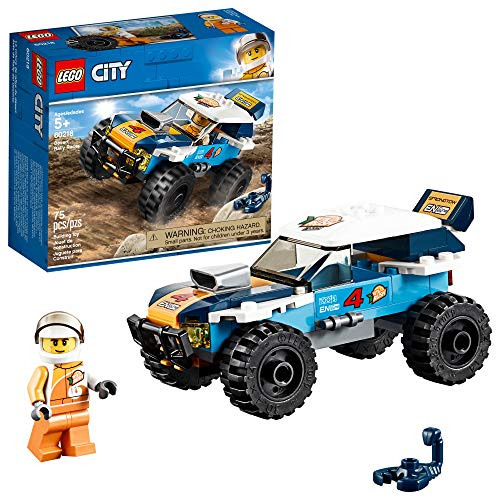 LEGO City Great Vehicles Desert Rally Racer 60218 Building Kit, 2019 (75 Pieces)