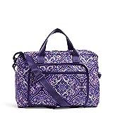 Vera Bradley Women's Vera Bradley Women s Packable Weekender Travel Bag Regal...