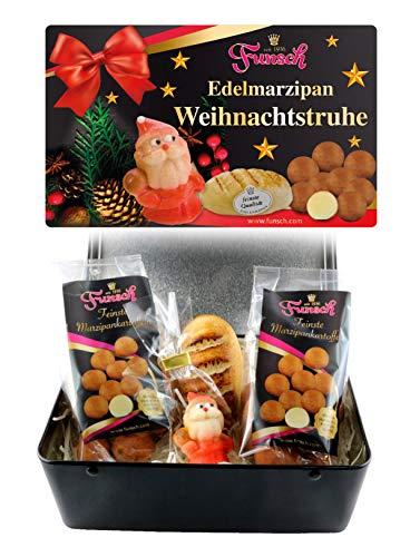 Funsch Marzipan Edelmarzipan Weihnachtstruhe, 325g