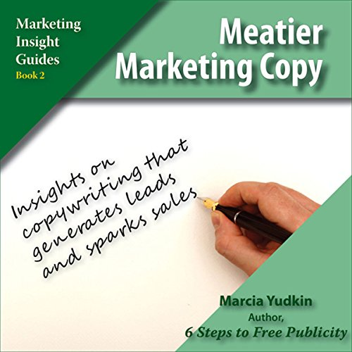 Meatier Marketing Copy audiobook cover art