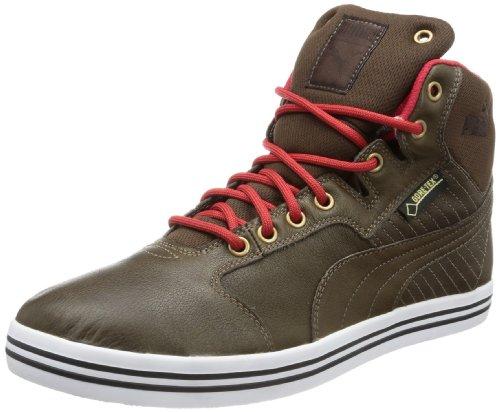 Puma Puma Herren Tatau Mid L GTX High-Top, Braun (Chocolate Brown-Haute red-Bronze-Black Coffee 03), 40.5