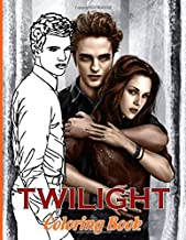 Twilight Coloring Book: Stress-Relief Coloring Books For Adult Awesome Exclusive Images