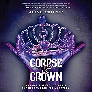 Corpse & Crown audiobook cover art