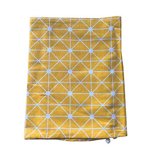 VOSAREA Funda para lavadora para frigorífico universal con portaobjetos para colgar, 55 x 130 cm, color gris