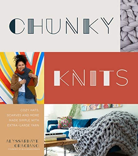 Chunky Knits Cozy Hats Scarves and More Made Simple with Extra Large Yarn product image