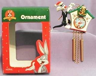 Looney Tunes Collectible Ornament – Santa Sylvester and Tweety Cuckoo Clock 1996