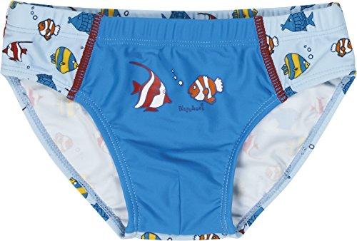 Playshoes Jungen UV-Schutz Fische Badehose, Blau (original 900), 86 (Herstellergröße: 86/92)