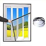Cortina de pantalla magnética Pantalla de ventana autoadhesiva para mosquitos, cortina de malla de malla de pantalla de ventana de mosquito anti mosquitos, material de reemplazo de pantallas de venta